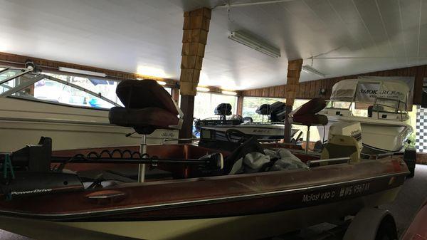 Monark Bass Boat