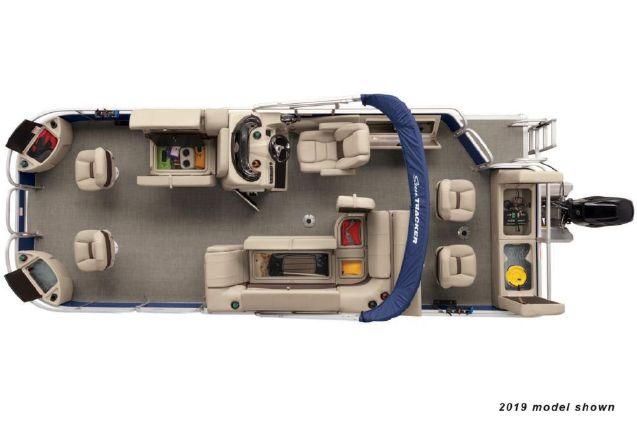 Sun Tracker Fishin' Barge 22 DLX image