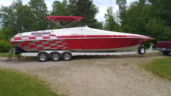 Fountain 38 Sport Cruiser
