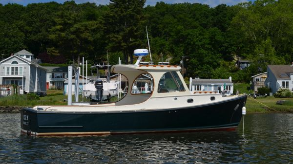 C.W. Hood Wasque 26 Hardtop Cruiser