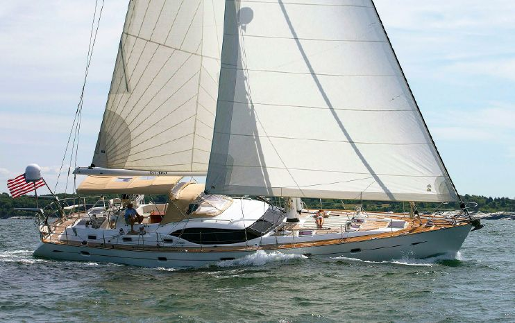 2009 Oyster 62 Deck Saloon