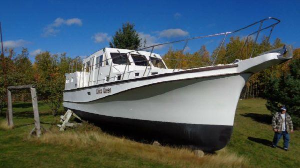Northumberland Tri-Cabin Trawler