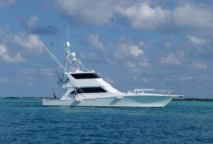 2003 Viking Yachts 65 Enclosed Bridge