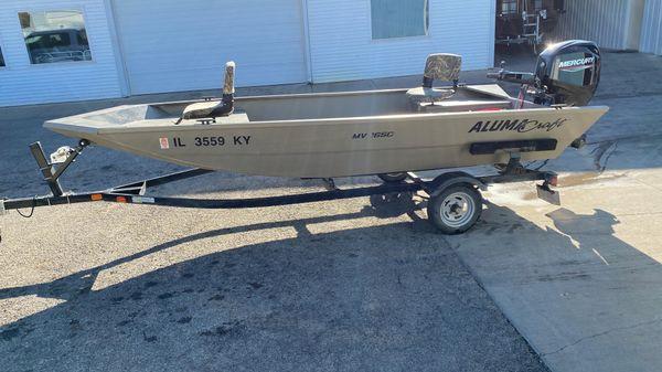 Alumacraft MV 1650 AW Tiller