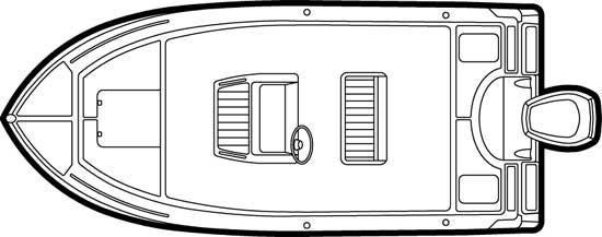 Century 1800 Center Console image