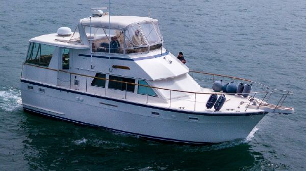 Hatteras 43 Motoryacht For Sale at Pier 33