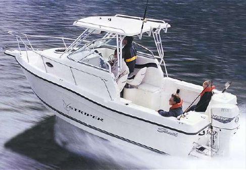 Seaswirl Striper 2100 Walkaround O/B image