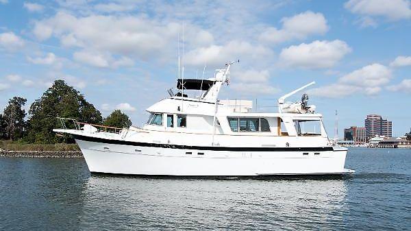 Hatteras Long Range Cruiser