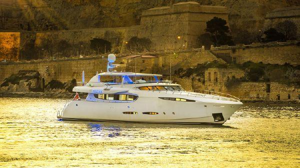 Superyacht Leight Notika 36m