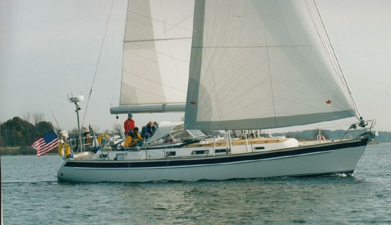 2003 Hallberg Rassy 43 Sloop