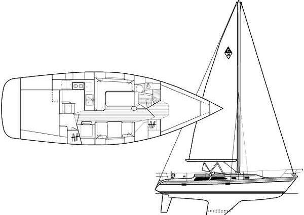 Catalina 36 MkII image