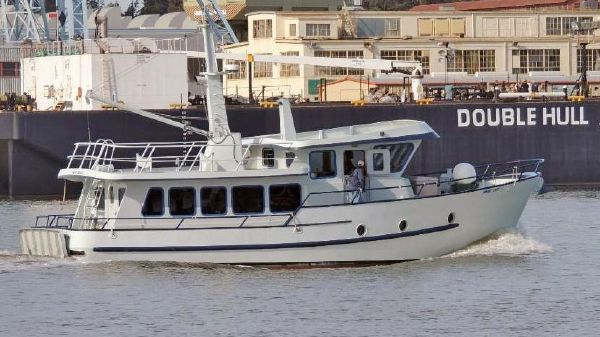 Custom Metal Craft Marine long range pilothouse trawler