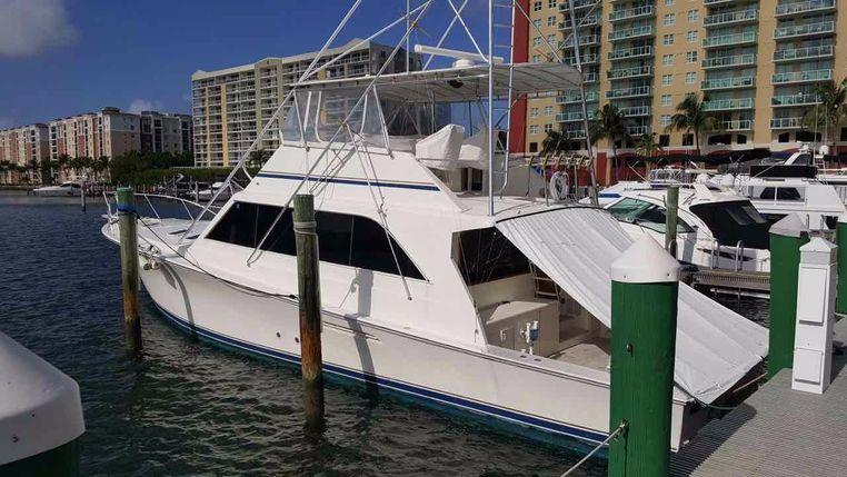 1990 Ocean Yachts 63 Super Sport