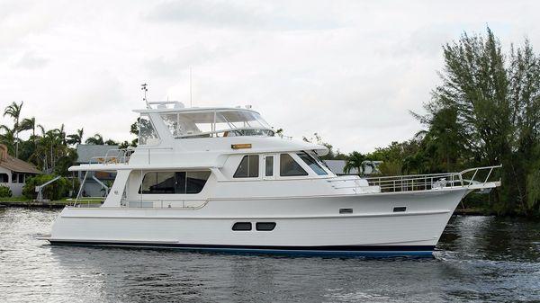 Grand Banks 53 Aleutian RP Starboard Profile