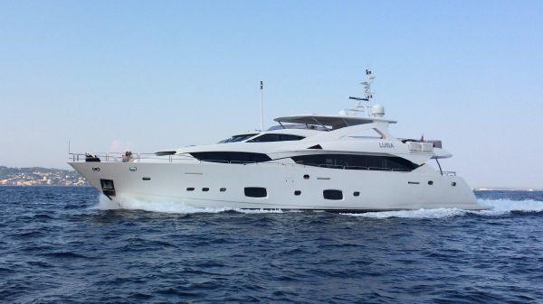 Sunseeker 34 Metre Yacht Exterior