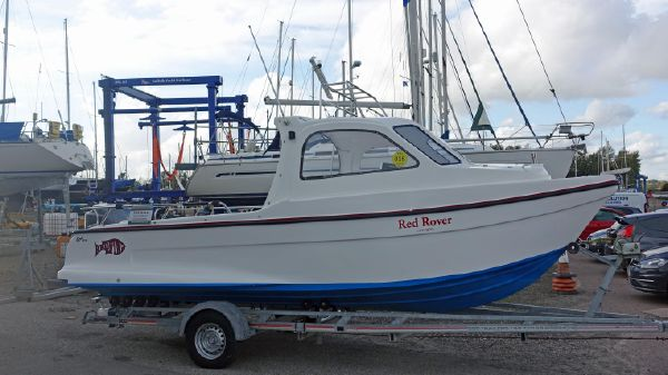Erne Boats Redfinn 6m Sports Fisher