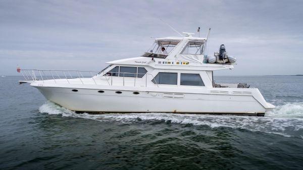 Navigator 53 pilothouse Port Profile