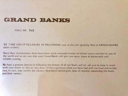 Grand Banks Classic 42 image