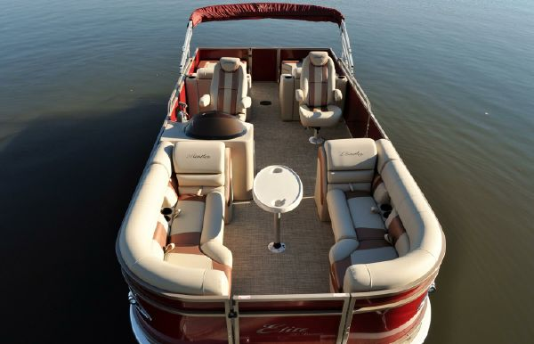 2017 Bentley Pontoons 253 Elite Rear Lounger