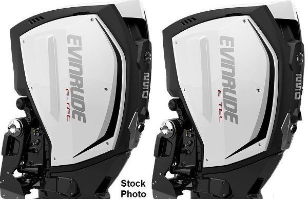 Evinrude  E-TEC G2 250hp 25 inch Shaft, DI, Demo Outboard Motors w/ Warranty til 9/26/2022 C/R Pair