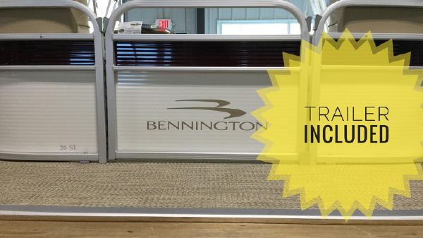 Bennington 22 SSXAPGP TRIPLE-TOON