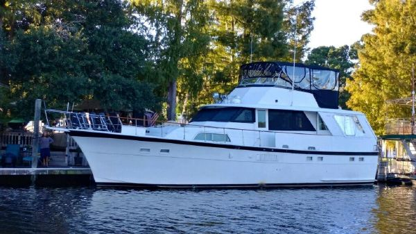 Hatteras Motor Yacht Flybridge