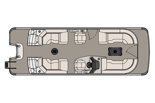 2017 Avalon Ambassador Quad Lounge - 25'