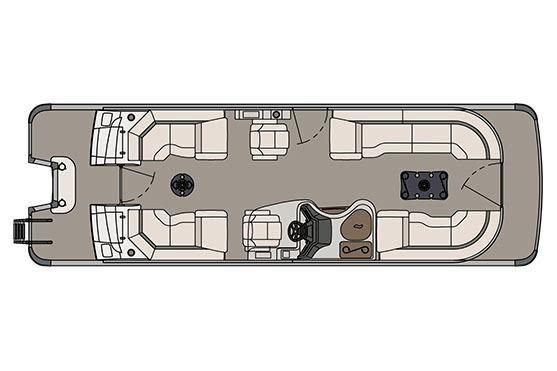 2017 Avalon Ambassador Quad Lounge - 27'