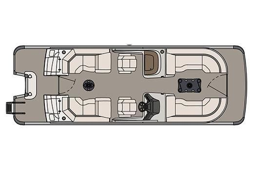2017 Avalon Ambassador Quad Lounge Windshield - 25'
