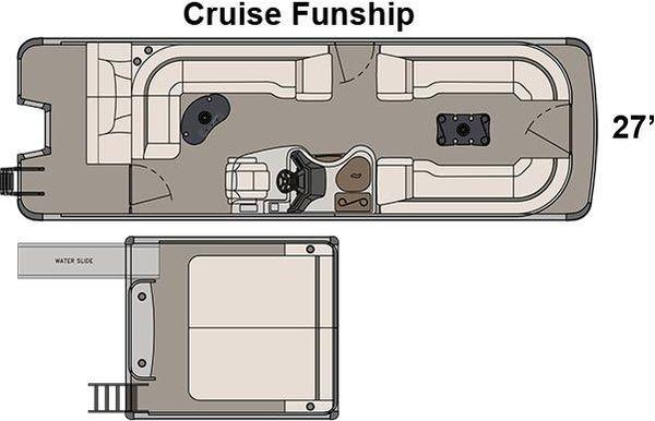 2017 Avalon Ambassador Cruise Funship - 27'