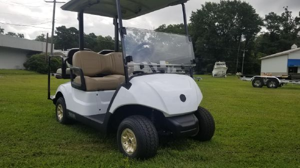 Yamaha Outboards Golf Car