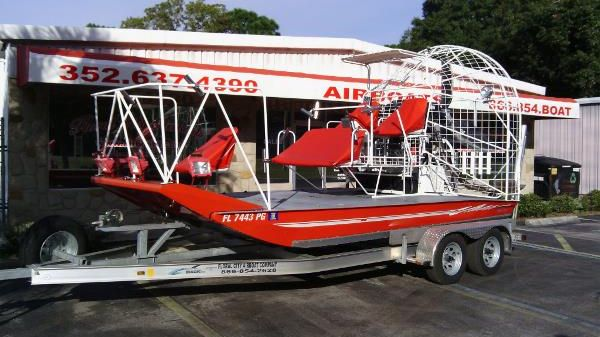 Floral City 16' Deck Over Airboat