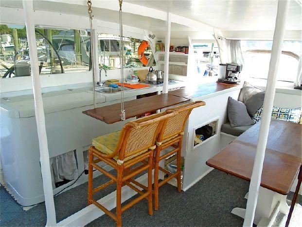 1977 Spronk Custom Catamaran Purchase Maine