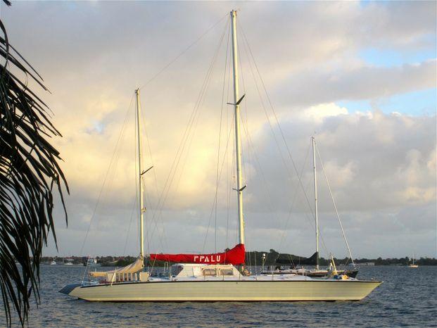 1977 Spronk Custom Catamaran Broker New England
