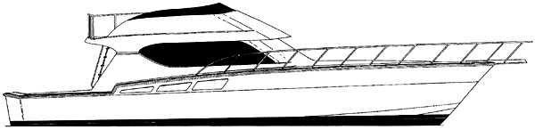 Hatteras 55 Convertible image
