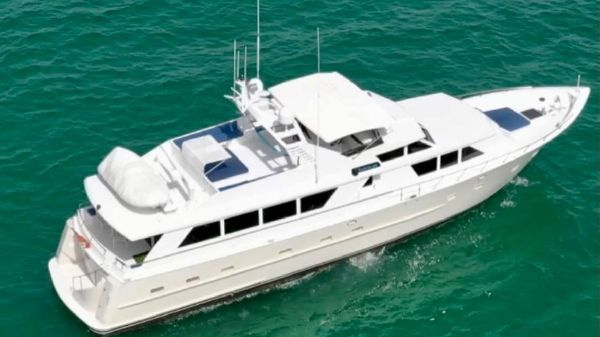 Broward 85 Motor Yacht
