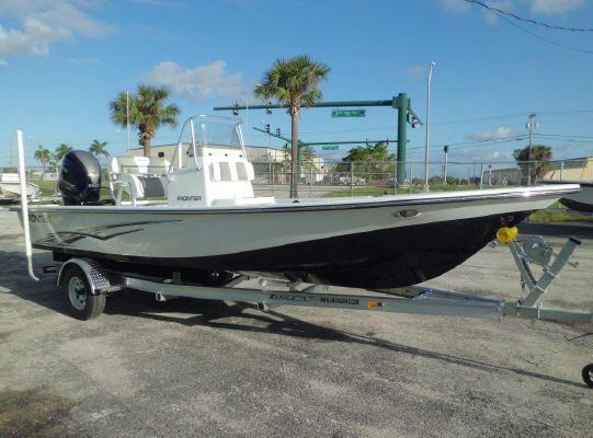 Frontier 2104 Meridian Powered By a Yamaha Vmax SHO F150 4-Stroke Outboard Motor … - main image