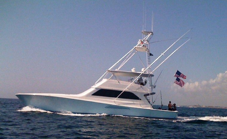 2000 Viking Yachts 65 Convertible