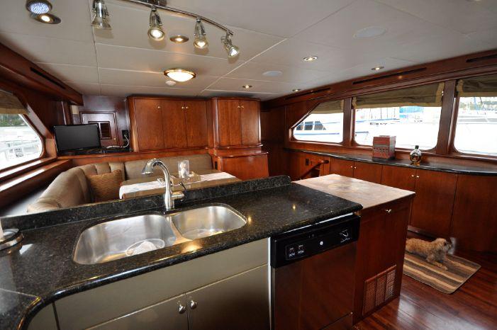 2001 Custom Luxury Motor Yacht BoatsalesListing Connecticut