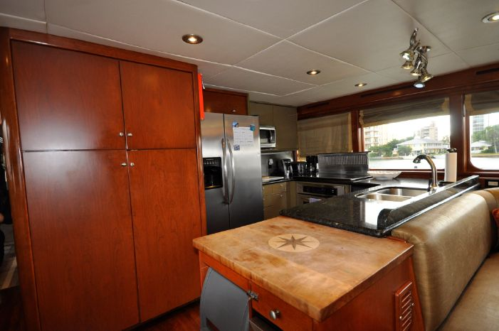 2001 Custom Luxury Motor Yacht BoatsalesListing New England