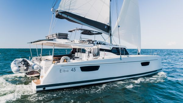 Fountaine Pajot Catamaran Elba 45