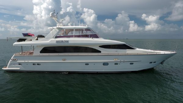 Horizon 82 Motor Yacht Starboard Profile