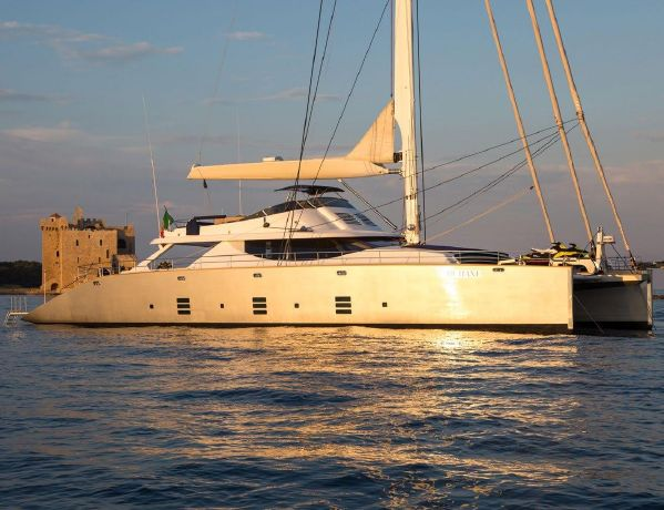 Custom Catamaran Cuneo Marine 106