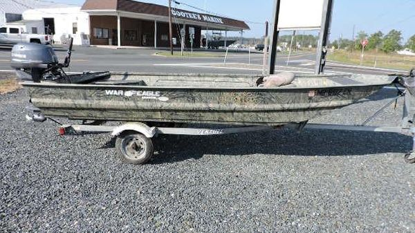 War Eagle 16 ft Duck Boat
