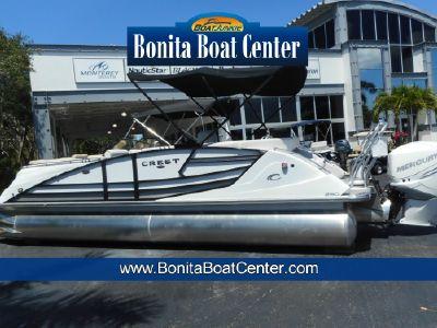 2018 Crest<span>Savannah 250 NX-L Pontoon Boat</span>