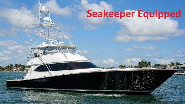 Viking Sportfish with Seakeeper