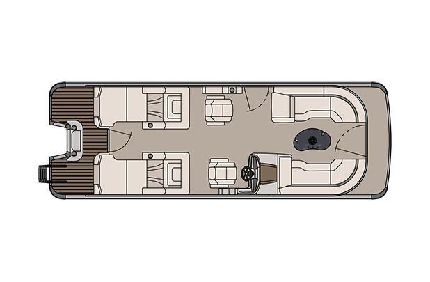 2018 Avalon Catalina Platinum Rear Lounge - 25' - A Boat
