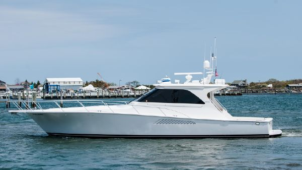 Viking 52 Sport Yacht Port Side