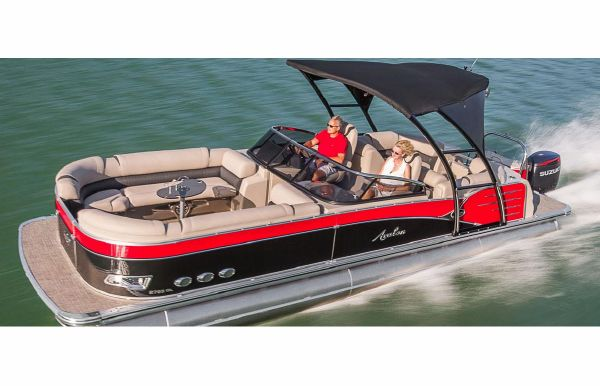 2018 Avalon Catalina Platinum Quad Lounge Windshield - 25'