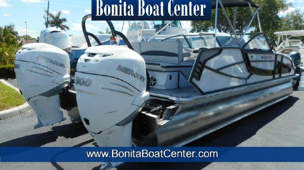 Crest Continental 270 NX-L Twin Engine Pontoon Boat